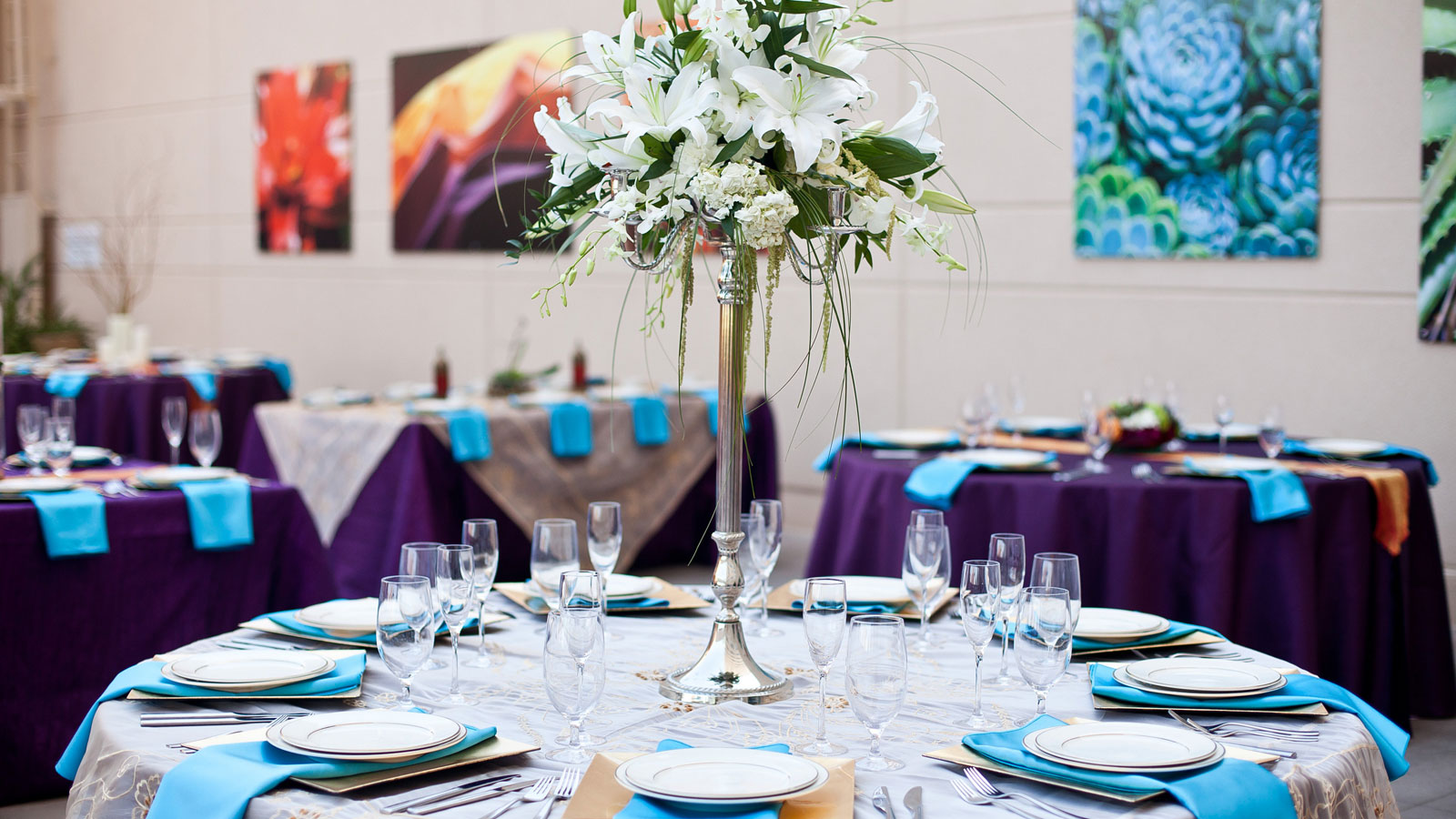 Phoenix Wedding Venues - Tablescape