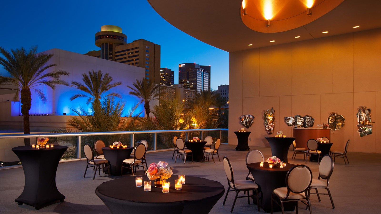 Phoenix Wedding Venues - Second floor terrace